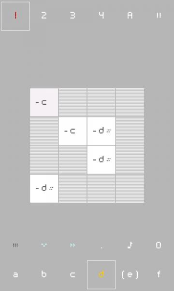 nanoloop pattern editor