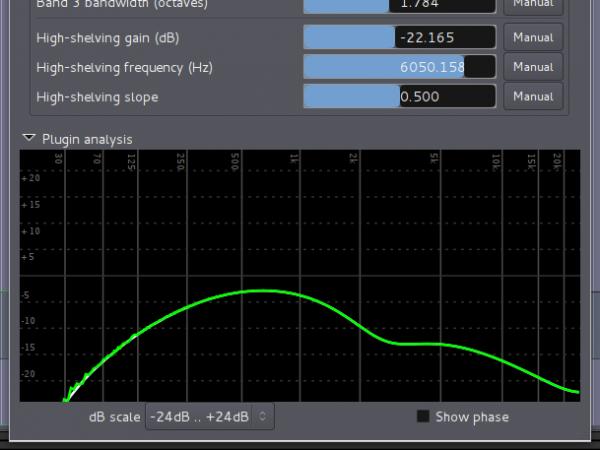 """old-timey"" EQ curve"