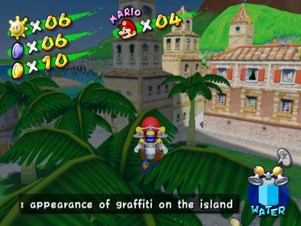 Super Mario Sunshine was always a strange Mario  game, but that made it no less fun