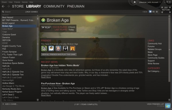 With dozens of great games on Steam, using Linux for PC gaming has never been more viable
